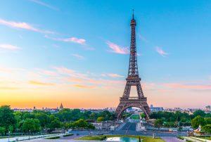 op stap in Frankrijk